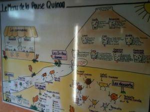Le Menu de la Pause Quinoa à Strasbourg
