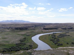 La vallée de la Milk river