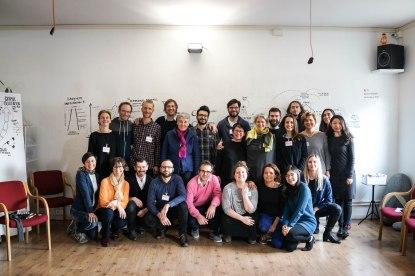 Le groupe du Visual Practice Workshop