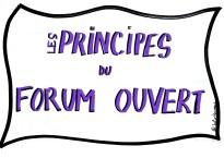 Les principes du forum ouvert