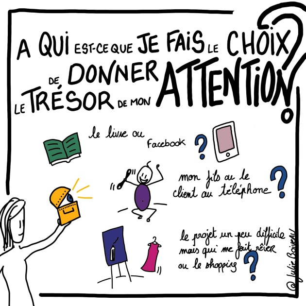 faire le choix de donner son attention